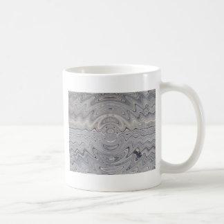 weathered wood ripple mug