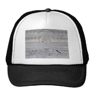 weathered wood rippled trucker hats
