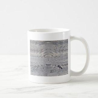 weathered wood rippled coffee mugs