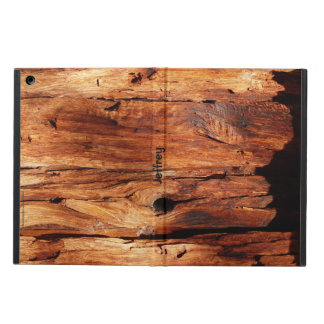 Weathered Wood Siding, Personalized Folio Case Cover For iPad Air