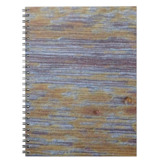Weathered Wood Spiral Note Books