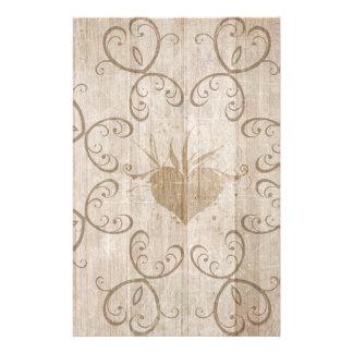 Weathered Wood Stationary Customised Stationery