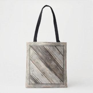 """Weathered Wood"" v2 Tote Bag: Choose Size Tote Bag"