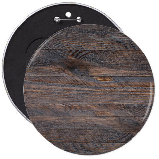 Weathered Wood Wall Texture 6 Cm Round Badge