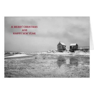 Weathering Shacks Christmas Card