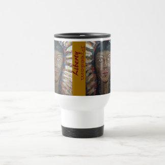 "Weather's Liberty Motto Travel Mug: "" wisdom"" Travel Mug"
