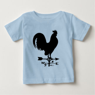 Weathervane Rooster Baby T-Shirt
