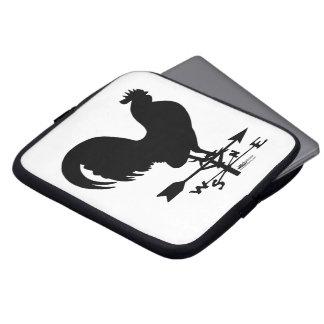 Weathervane Rooster Laptop Sleeve