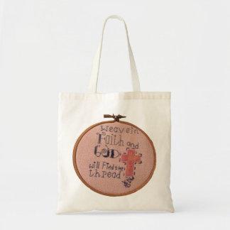 Weave in Faith bag