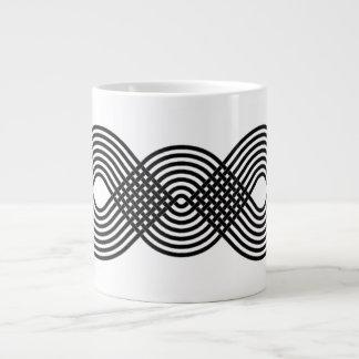 Weave Pattern Large Coffee Mug