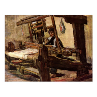 Weaver by Vincent van Gogh Postcard