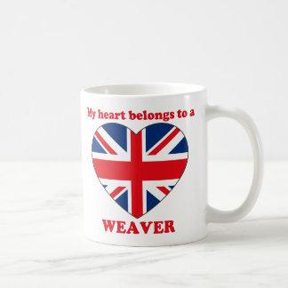 Weaver Coffee Mug