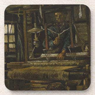 Weaver s Cottage by Vincent Van Gogh Coaster