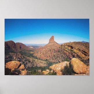Weavers Needle - Arizona landscape | Poster