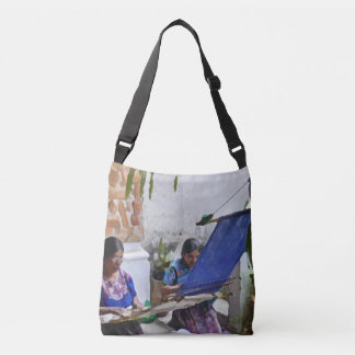 Weaving in Antigua drybrush Crossbody Bag