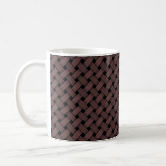 weaving or woven seamless texture coffee mug