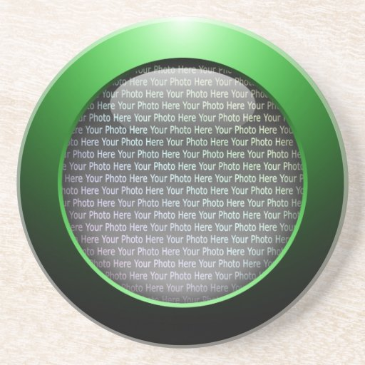 Web 2.0 Button Drink Coaster