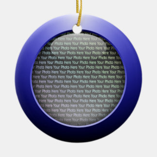 Web 2.0 Button Christmas Ornament