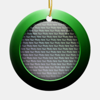 Web 2.0 Button Christmas Tree Ornaments