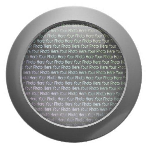 Web 2.0 Button Dinner Plate