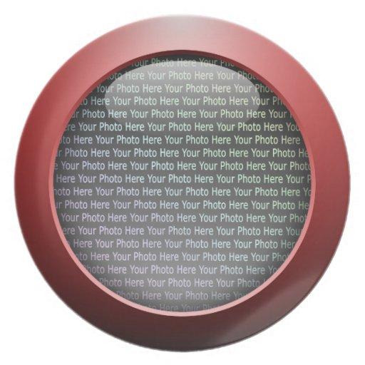 Web 2.0 Button Party Plates