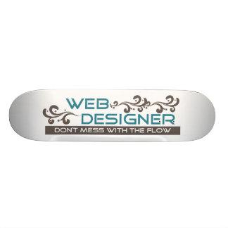 Web Designer Skateboard Deck