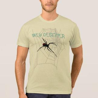 WEB DESIGNER & SPIDER T-Shirt
