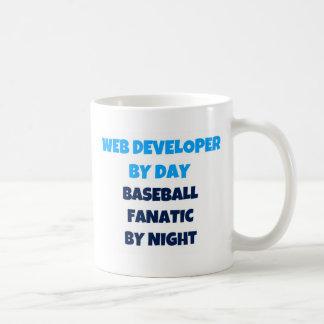 Web Developer by Day Baseball Fanatic by Night Coffee Mug