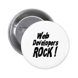 Web Developers Rock Button