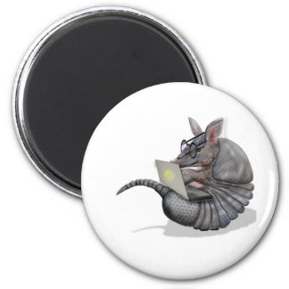 web dillo 6 cm round magnet