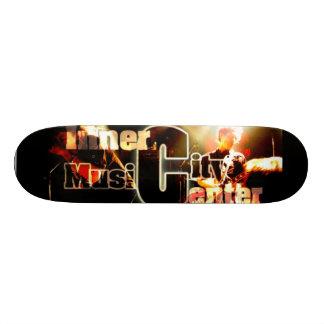 web logo board skateboard deck
