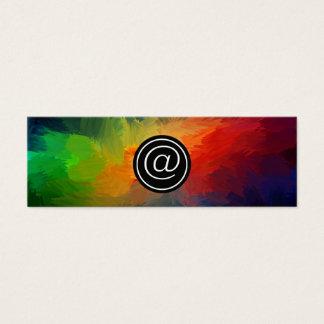 Web Mini Business Card