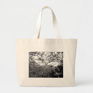 Web of Branches Tote Bags