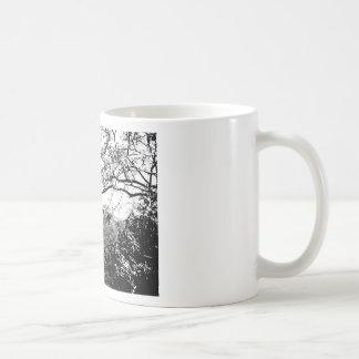 Web of Branches Basic White Mug