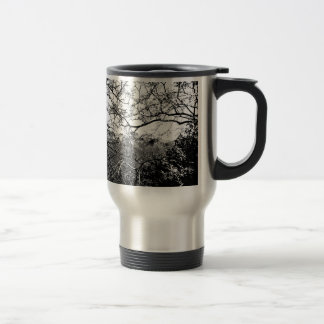 Web of Branches Stainless Steel Travel Mug
