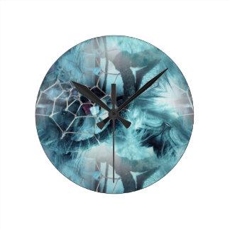 Web Of Dreams Round Clock