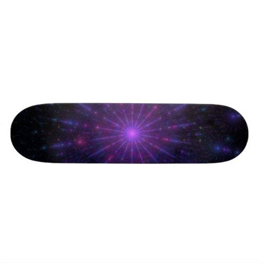 """Web Of Independance"" Fractal Art Custom Skateboard"