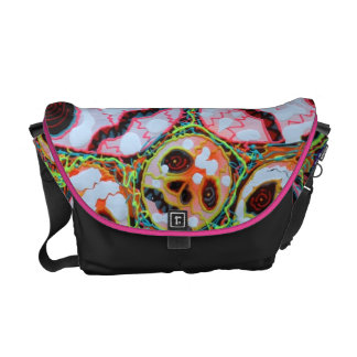 Web of Skulls Fashion Bag Messenger Bag