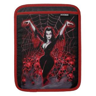 Web of Vampira Spider Lady iPad Sleeves