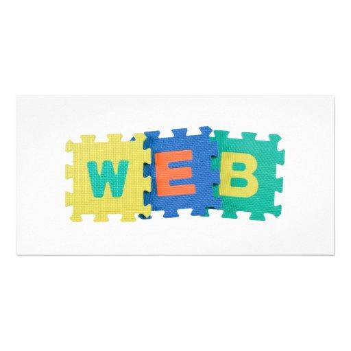 Web Photo Greeting Card
