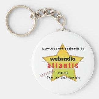 web radio Atlantis - promotion material Keychain