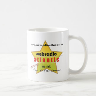 web radio Atlantis - promotion material Mugs