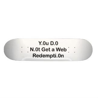 Web Redemption Skateboard Pro