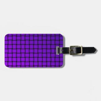 Web sample luggage tag
