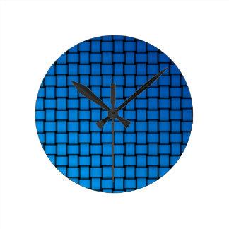 Web sample round clock
