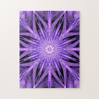 Web Way Mandala Jigsaw Puzzle