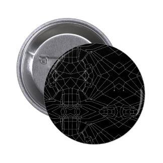 Webbed Unicorn V02 6 Cm Round Badge