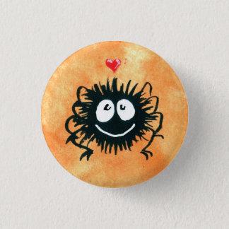 Webber the Spider Loves Halloween! 3 Cm Round Badge