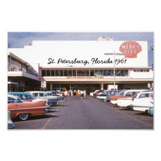 Webb's City St. Petersburg Florida Photo Print