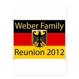 Weber Family Reunion jpg Post Card